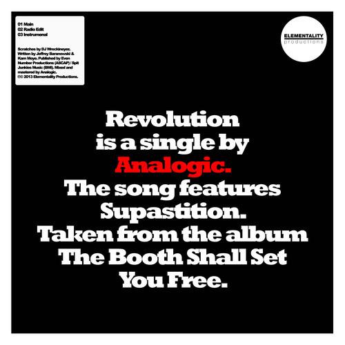 Analogic - Revolution (feat. Supastition)