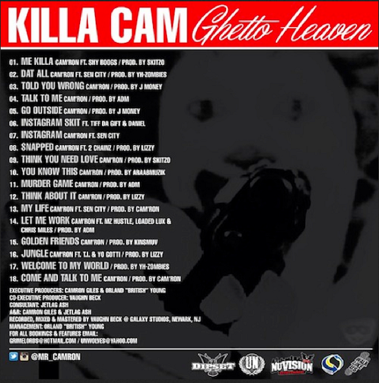 Ghetto Heaven Vol.1 -Tracklist